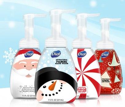 santa dial antibacterial foaming hand wash