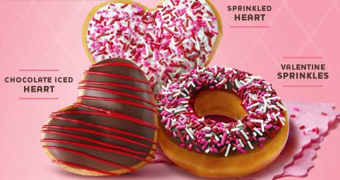 valentine's day krispy kreme promotion