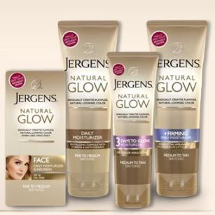 Jergens Natural Glow Sample