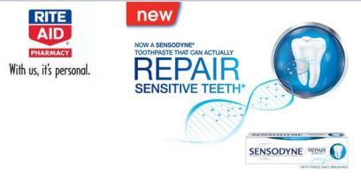 Rite Aid Sensodyne Toothpaste Sample