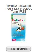 Target Sample Pedia Lax Probiotic Yums