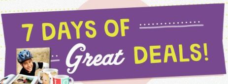 Walgreens 7 Great Days of Deals Banner