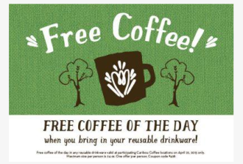 Free Caribou Coffee