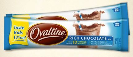Ovaltine Stick Pack Sample on Facebook
