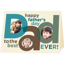 Treat Fathers Day Card