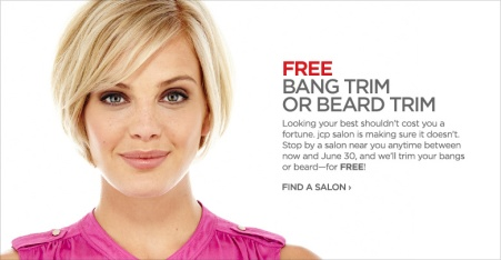 JCpenney free trim