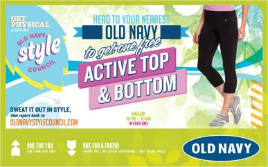 Old Navy Active Top & Bottom